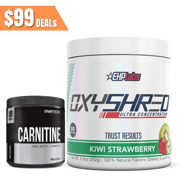 Ehplabs Oxyshred switch carnitine
