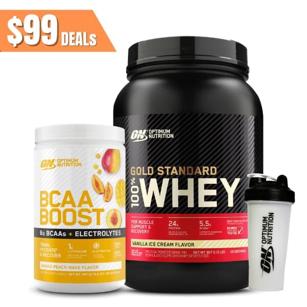 ON GS 2lb + BCAA Boost pack
