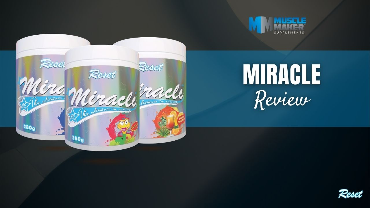 Reset Nutrition Miracle thermogenic review Thumbnail