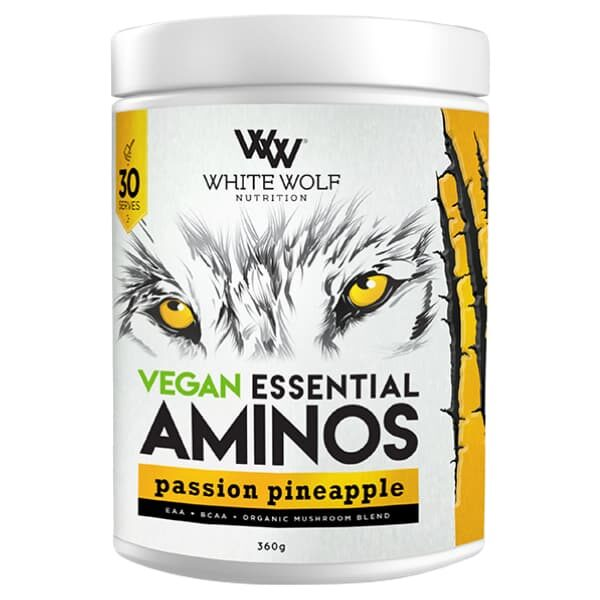 White Wolf Nutrition Vegan Essential Aminos - Passion Pineapple