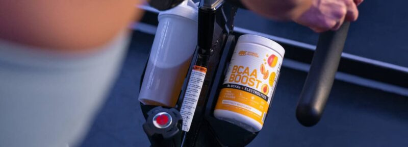 Optimum Nutrition BCAA Boost review bike image