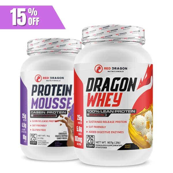 Red Dragon Nutritionals Night And Day Protein Stack