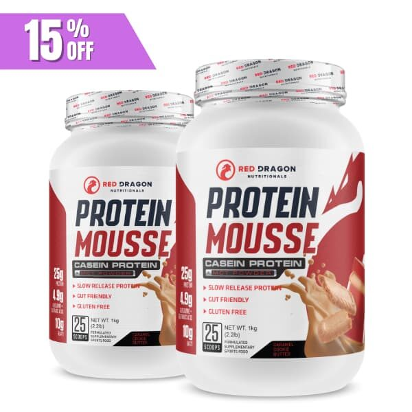 Red Dragon Nutritionals Protein Mousse Twin Pack