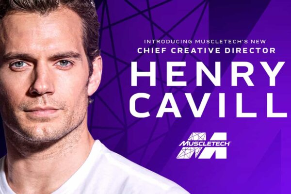 Superman Henry Cavill becomes new creative director for muscletech